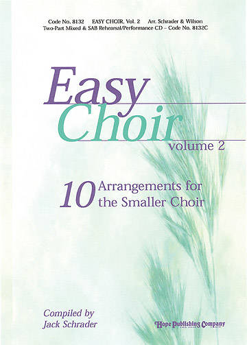 Easy Choir Volume 2 CD Preview Pak