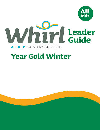 Picture of Whirl All Kids Leader Guide Year Gold Winter