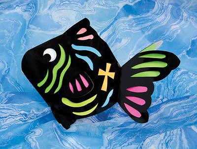 Concordia VBS 2014 Gangway to Galilee Fin-Tastick Fish Craft 12pk