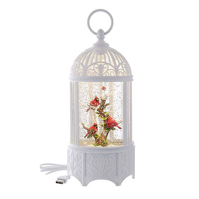 Picture of LED Battery Bird Cage Lantern With Motion