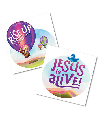 Picture of Rise Up With Jesus: Skin Decals (10/pkg)