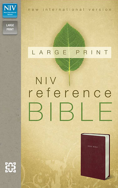 New International Version Reference Bible Large Print