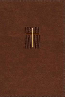 Picture of NIV Quest Study Bible, Leathersoft, Brown, Indexed, Comfort Print