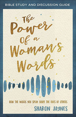 Picture of The Power of a Woman's Words Bible Study and Discussion Guide