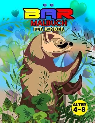 Picture of Bär Malbuch Für Kinder Alter 4-8