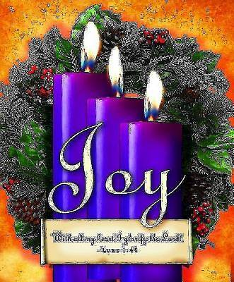 Advent Sunday 3 Purple Bulletin, Large (Pkg of 50)