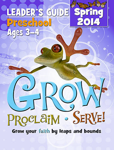 Picture of Grow, Proclaim, Serve! Preschool Leader Guide - Download 5/18/2014