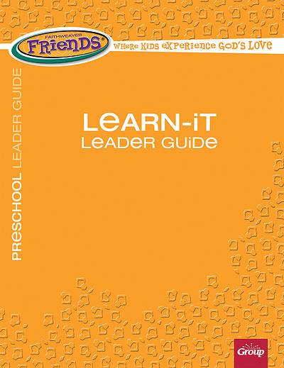 Picture of FaithWeaver Friends Preschool Learn-It Leader Guide Spring 2017