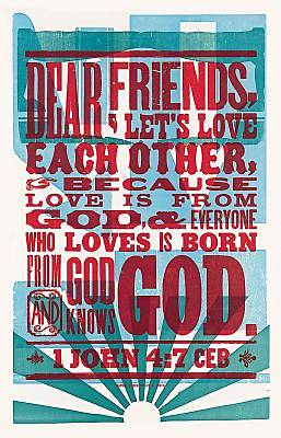 Picture of Love Is from God Common English Bible with Apocrypha