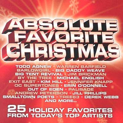 Absolutely Favorite Christmas; 25 Holiday Favorites from Todays Top Artists CD