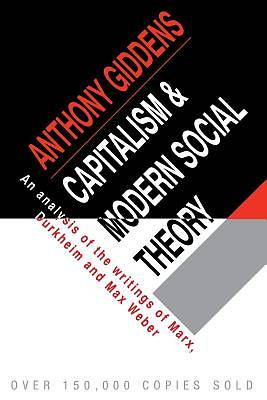 Picture of Capitalism and Modern Social Theory
