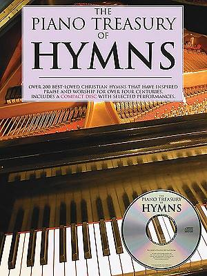 Piano Treasury of Hymns   Book with CD