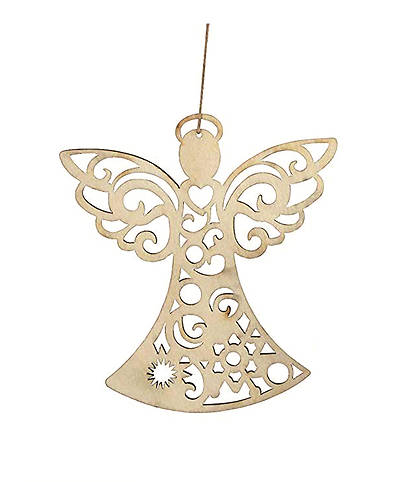 Flourish Angel Hanging Ornament