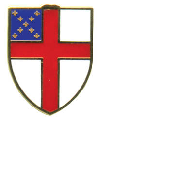 Episcopal Shield Pin- Pack of 5 (#55)