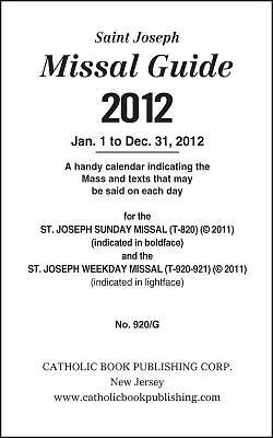 Annual Missal Guide - 2012