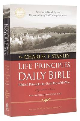Picture of Charles F. Stanley Life Principles Daily Bible-NASB