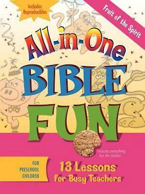 Picture of All-in-One Bible Fun for Preschool Children: Fruit of the Spirit
