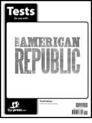 American Republic Grade 8 Testpack 3rd Edition