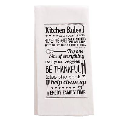 Picture of Towel Kitchen Rules