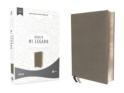 Picture of Nbla Biblia Mi Legado, Leathersoft, Gris, Una Columna, Interior a DOS Colores