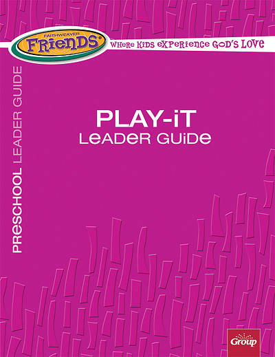 Picture of FaithWeaver Friends Preschool Play-It Leader Guide Winter 2018-19
