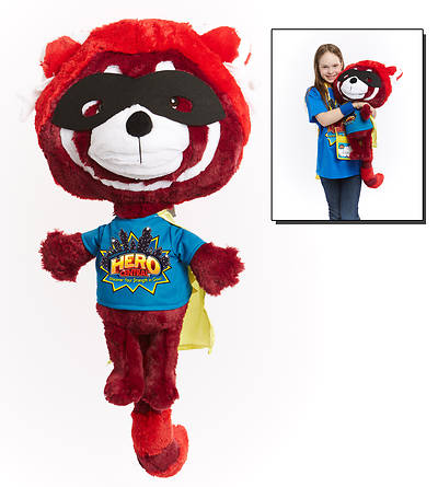 Vacation Bible School VBS Hero Central Flame the Red Panda Puppet