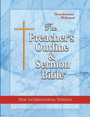Picture of Preacher's Outline & Sermon Bible-NIV-Thessalonians-Philemon