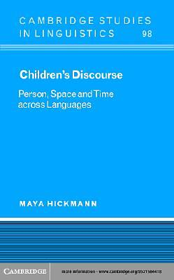 Childrens Discourse [Adobe Ebook]