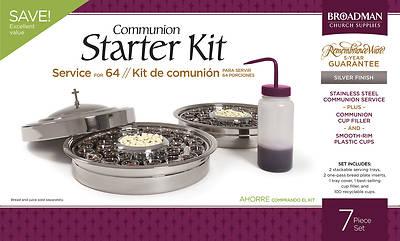 Picture of RemembranceWare Communion Starter Kit - Silver Finish