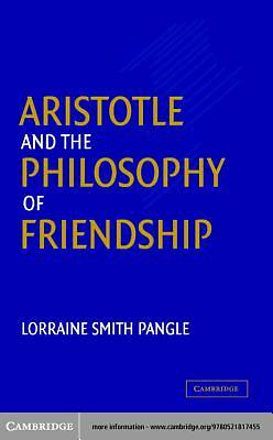 Aristotle and the Philosophy of Friendship [Adobe Ebook]