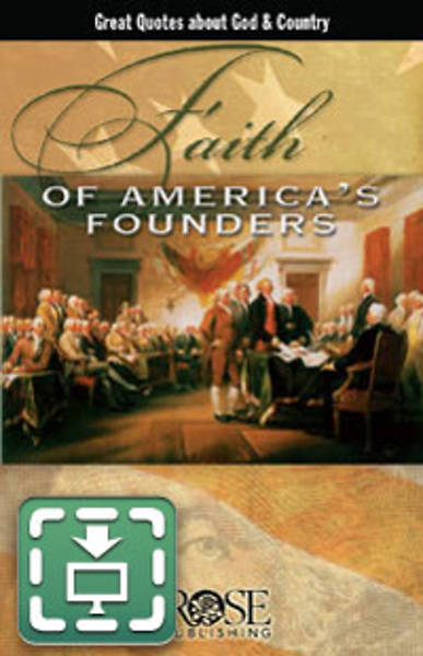 Picture of Wall Chart Faith of Americas Founders Laminated