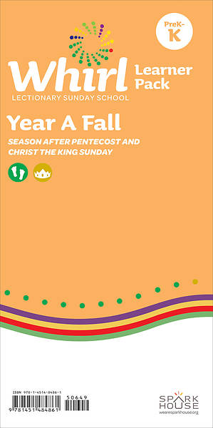 Whirl Lectionary PreK-Kindergarten Learner Leaflet Fall Year A