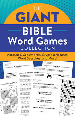 Picture of The Giant Bible Word Games Collection