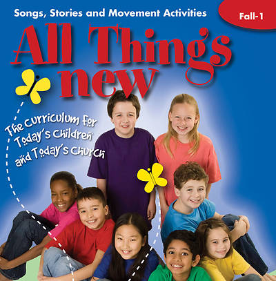 All Things New Fall 1 Interactive CD