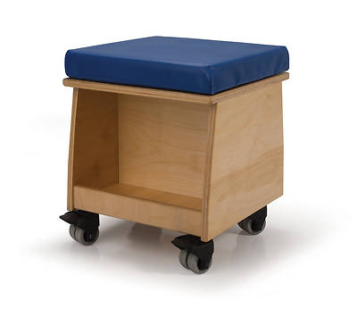 Picture of Rolling Teacher Stool