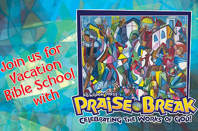 Vacation Bible School (VBS) 2014 Praise Break Invitation Postcards (Pkg of 25)
