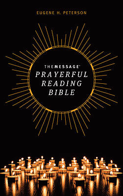 Picture of The Message Prayerful Reading Bible (Hardcover)