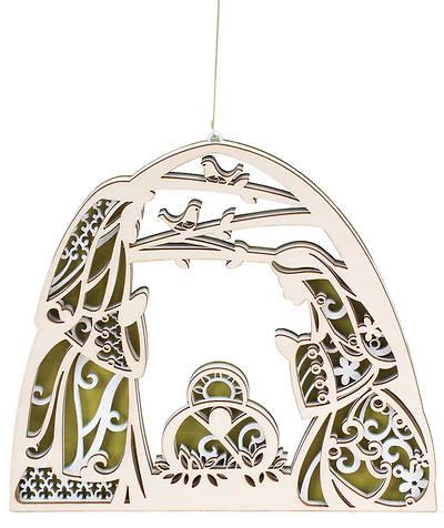 Picture of Flourish Large Nativity Ornament