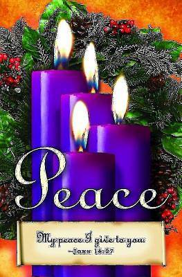 Advent Sunday 4 Purple Bulletin (Pkg of 50)