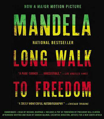 Long Walk to Freedom Audiobook - CD