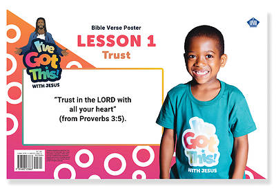 Picture of Vacation Bible School VBS 2021 I've Got This! With Jesus  Bible Verse Posters (10 Pk) Pre/Pri