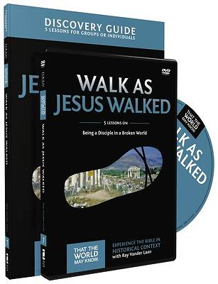Picture of Walk as Jesus Walked Discovery Guide with DVD