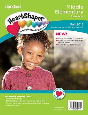 Standard HeartShaper Middle Elementary Resources Fall 2013