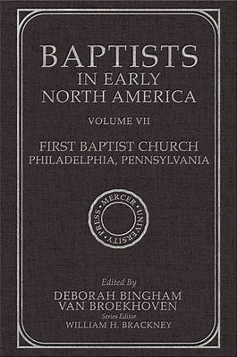 Picture of Baptists in Early North America-First Baptist Church, Philadelphia, Pennsylvania