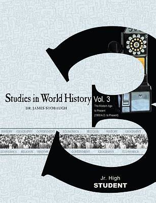 Picture of Studies in World History Volume 3