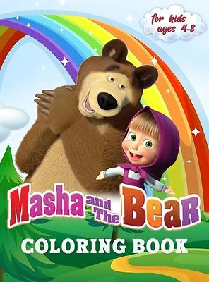 Picture of Masha and The Bear Coloring Book for Kids 4-8