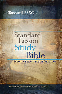 Standard Lesson Study Bible NIV Hardcover