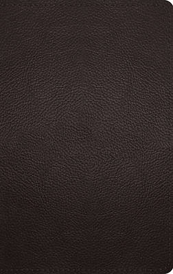 Picture of ESV Thinline Bible (Buffalo Leather, Deep Brown)