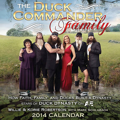 The Duck Commander Family Calendar 2014