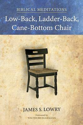 Low-Back, Ladder-Back, Cane-Bottom Chair